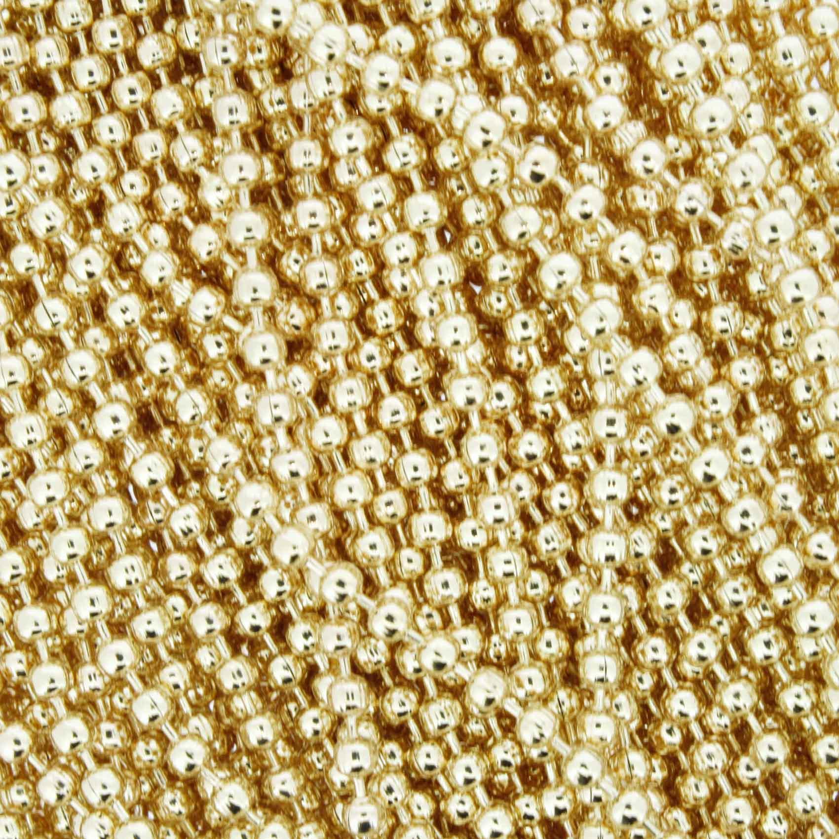 Corrente de Bolinha - 2,4mm - Dourada  - Stéphanie Bijoux® - Peças para Bijuterias e Artesanato