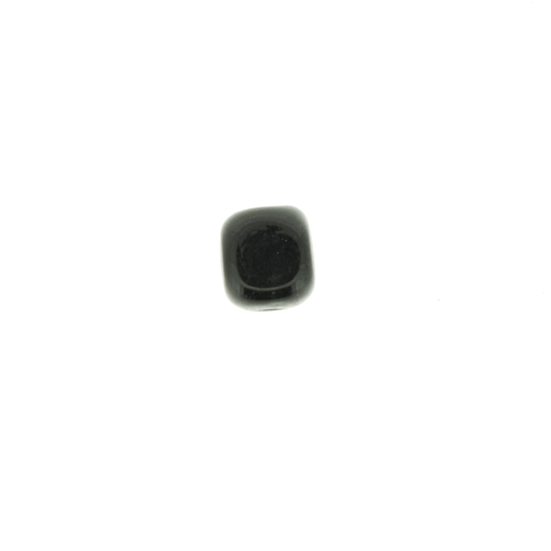 Cubo Vidro - Preto - Ref.: MC725  - Stéphanie Bijoux® - Peças para Bijuterias e Artesanato