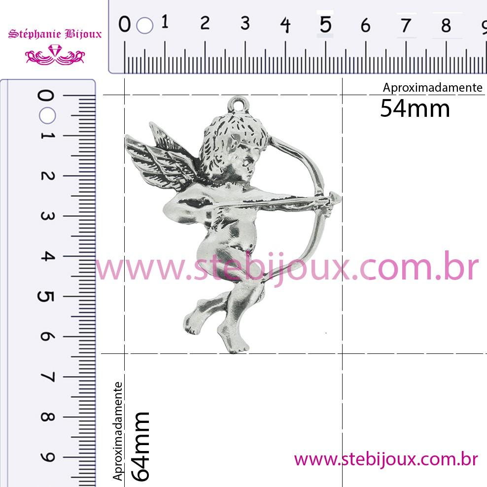 Cúpido - Níquel - 64mm  - Stéphanie Bijoux® - Peças para Bijuterias e Artesanato