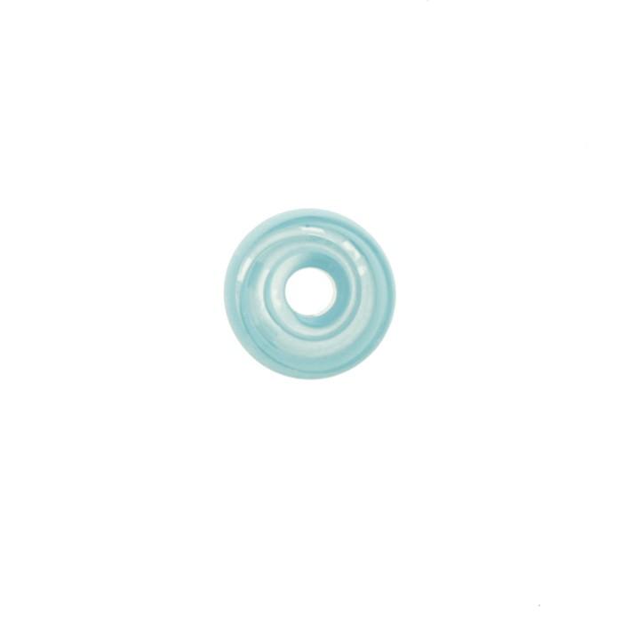 Disco Vidro - Azul Claro Mix - Ref.: MD926  - Stéphanie Bijoux® - Peças para Bijuterias e Artesanato