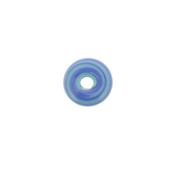 Disco Vidro - Azul Mix - Ref.: MD845  - Stéphanie Bijoux® - Peças para Bijuterias e Artesanato