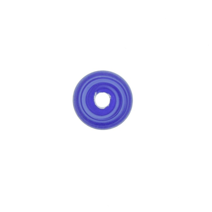 Disco Vidro - Azul - Ref.: MD265  - Stéphanie Bijoux® - Peças para Bijuterias e Artesanato
