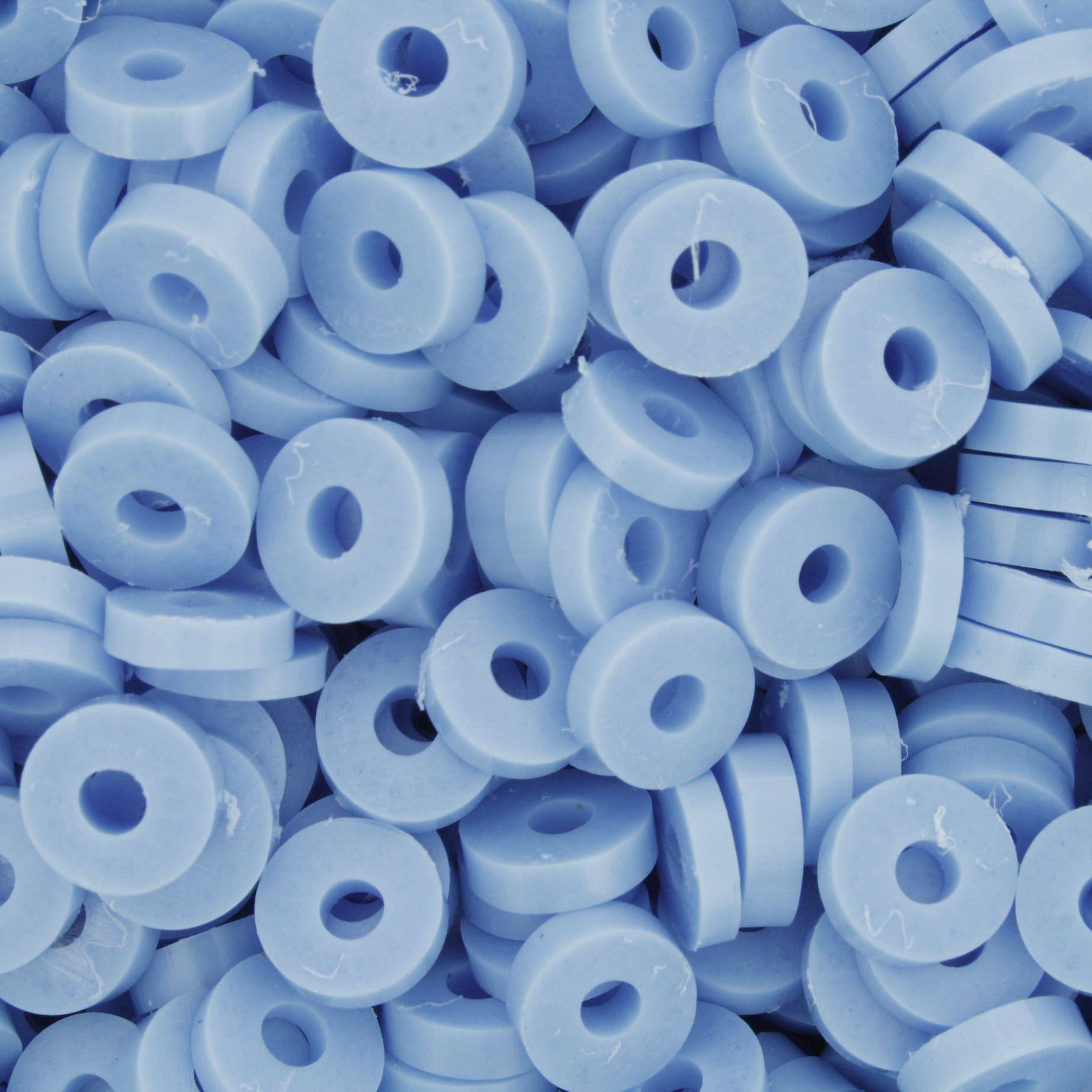 Disquinho - Azul Claro - 7mm  - Stéphanie Bijoux® - Peças para Bijuterias e Artesanato