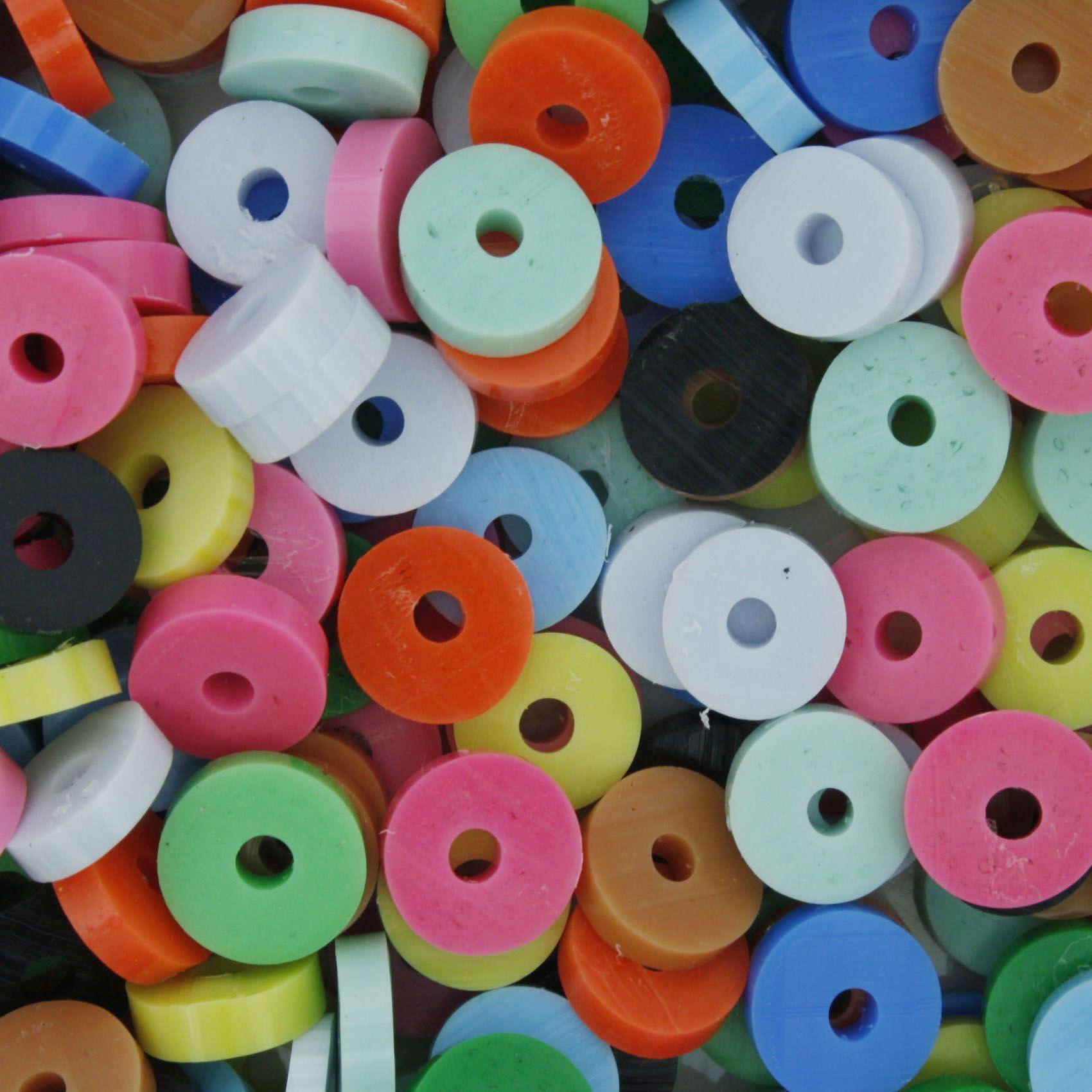 Disquinho - Colorida - 7mm  - Stéphanie Bijoux® - Peças para Bijuterias e Artesanato