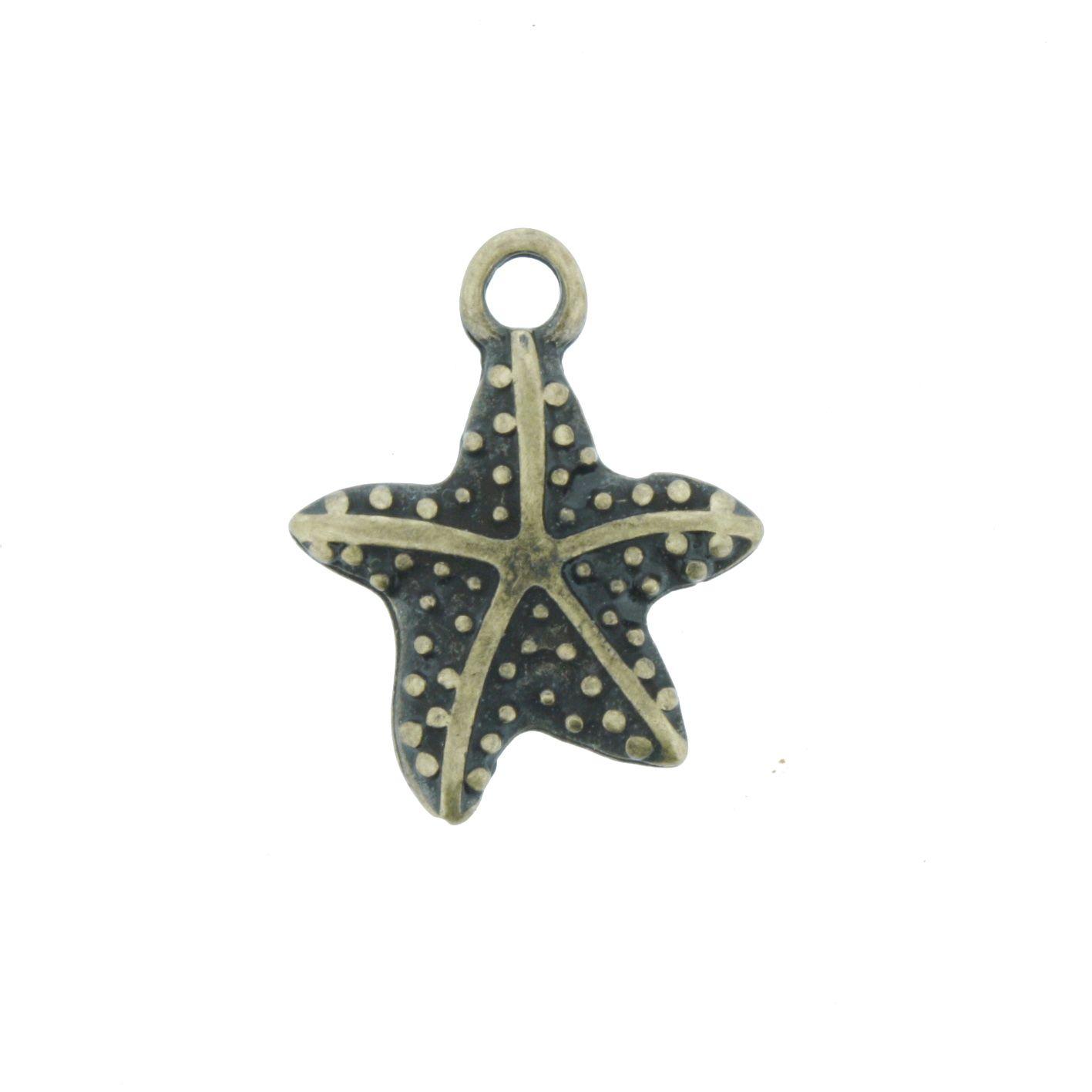 Estrela do Mar - Níquel - 21mm  - Stéphanie Bijoux® - Peças para Bijuterias e Artesanato