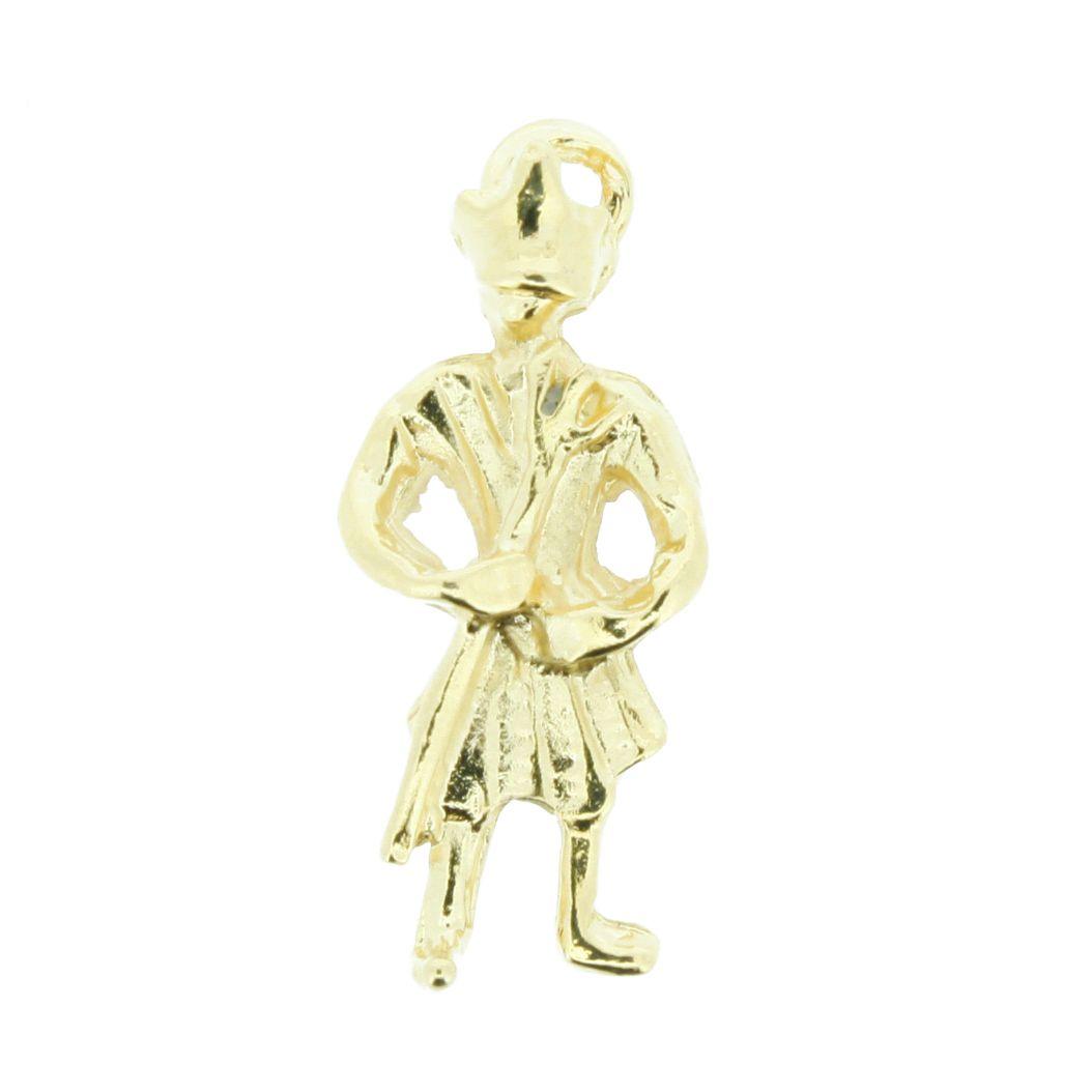 Exú - Dourado - 24mm  - Stéphanie Bijoux® - Peças para Bijuterias e Artesanato