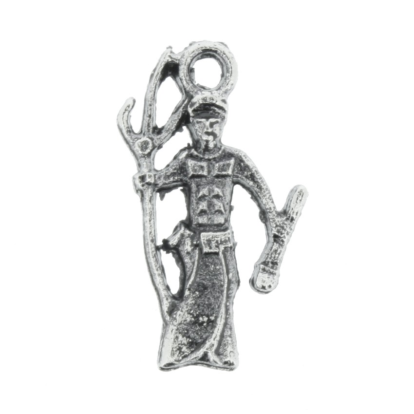 Exú - Níquel Velho - 19mm  - Stéphanie Bijoux® - Peças para Bijuterias e Artesanato