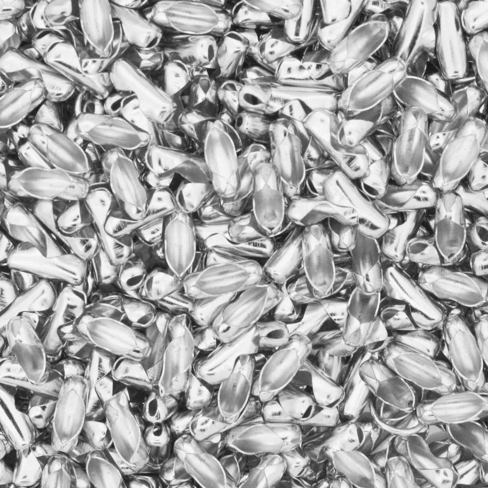 Fecho p/ Corrente de Bolinha - 2,0mm - Níquel  - Stéphanie Bijoux® - Peças para Bijuterias e Artesanato