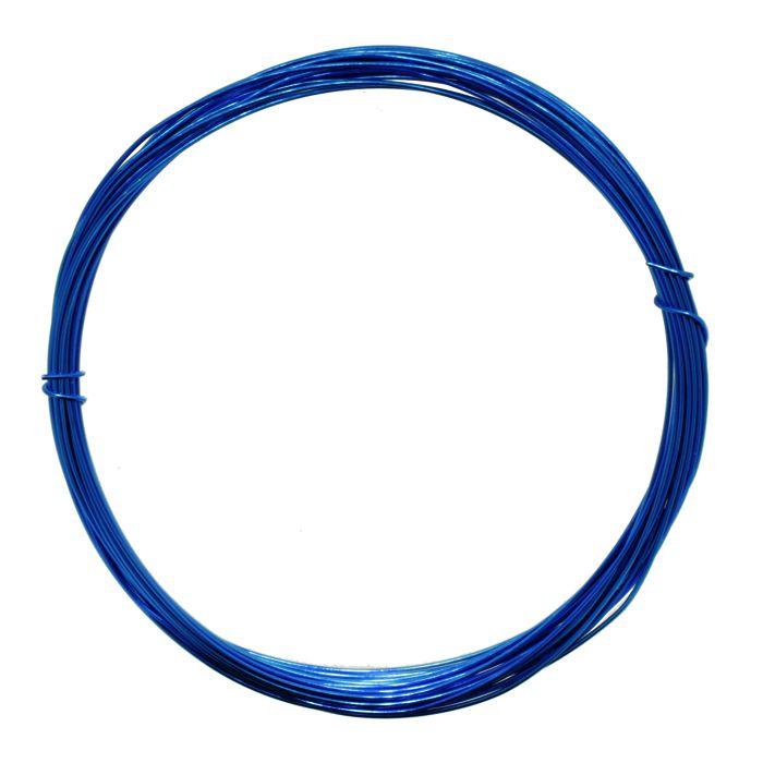 Fio de Arame -  Aluminum® - Azul  - Stéphanie Bijoux® - Peças para Bijuterias e Artesanato