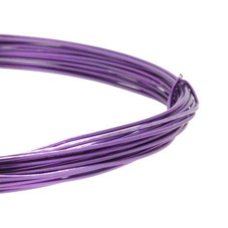 Fio de Arame -  Aluminum® - Lilás  - Stéphanie Bijoux® - Peças para Bijuterias e Artesanato