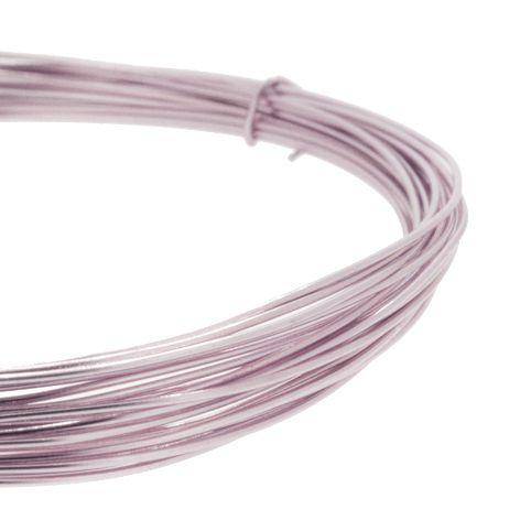 Fio de Arame -  Aluminum® - Rosa Claro  - Stéphanie Bijoux® - Peças para Bijuterias e Artesanato