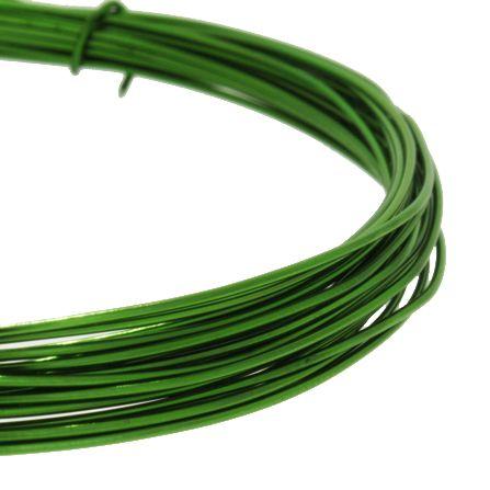 Fio de Arame -  Aluminum® - Verde  - Stéphanie Bijoux® - Peças para Bijuterias e Artesanato