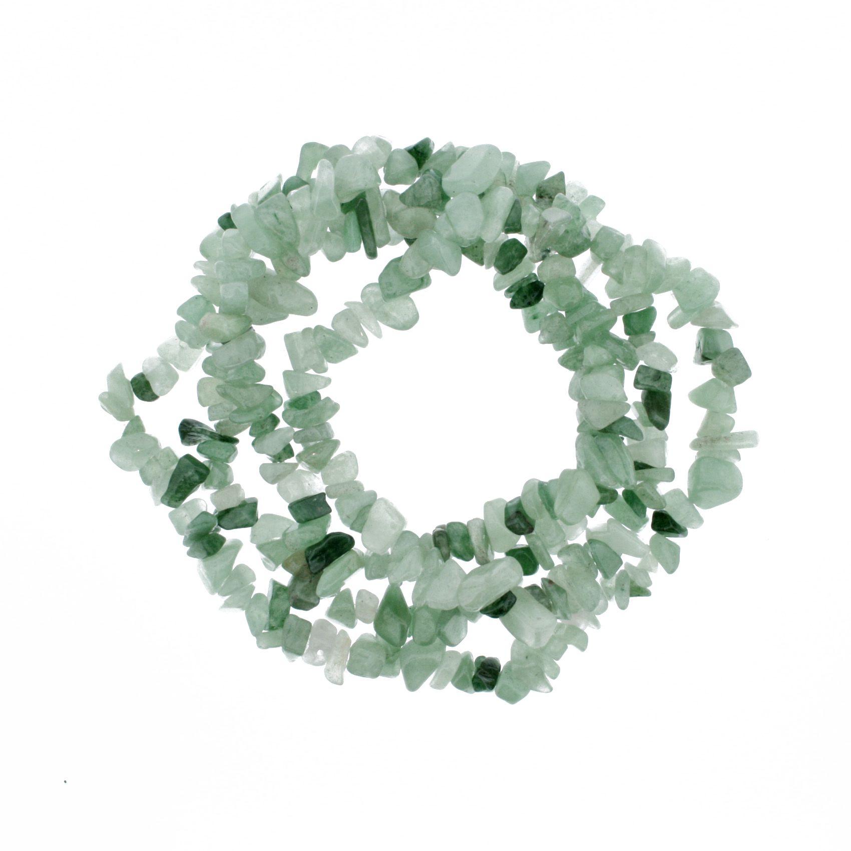 Fio de Cascalho - Stone® - Ágata Verde  - Stéphanie Bijoux® - Peças para Bijuterias e Artesanato