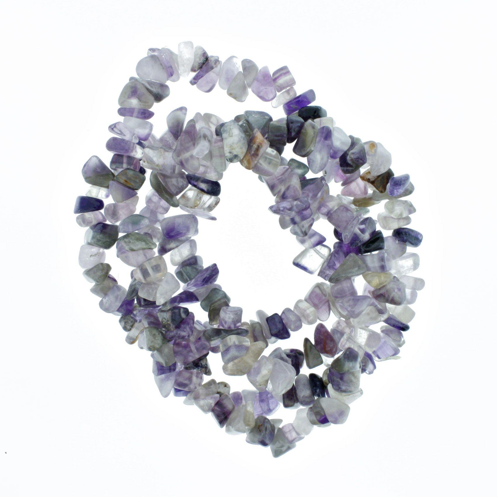 Fio de Cascalho - Stone® - Ametista  - Stéphanie Bijoux® - Peças para Bijuterias e Artesanato
