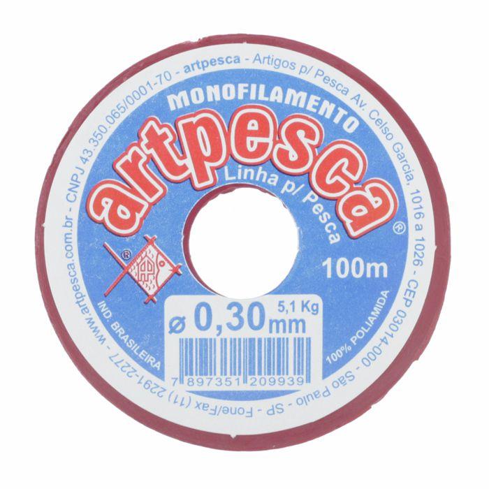 Fio de Nylon - ArtPesca® - 0,30mm  - Stéphanie Bijoux® - Peças para Bijuterias e Artesanato
