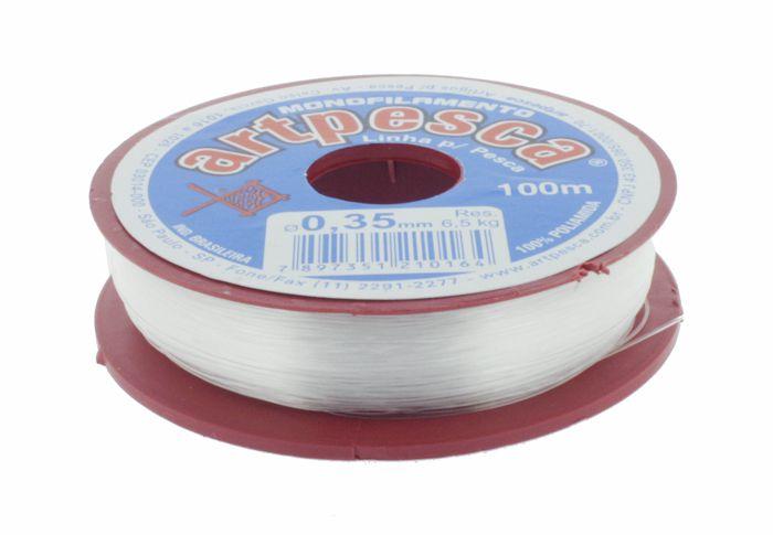 Fio de Nylon - ArtPesca® - 0,35mm  - Stéphanie Bijoux® - Peças para Bijuterias e Artesanato