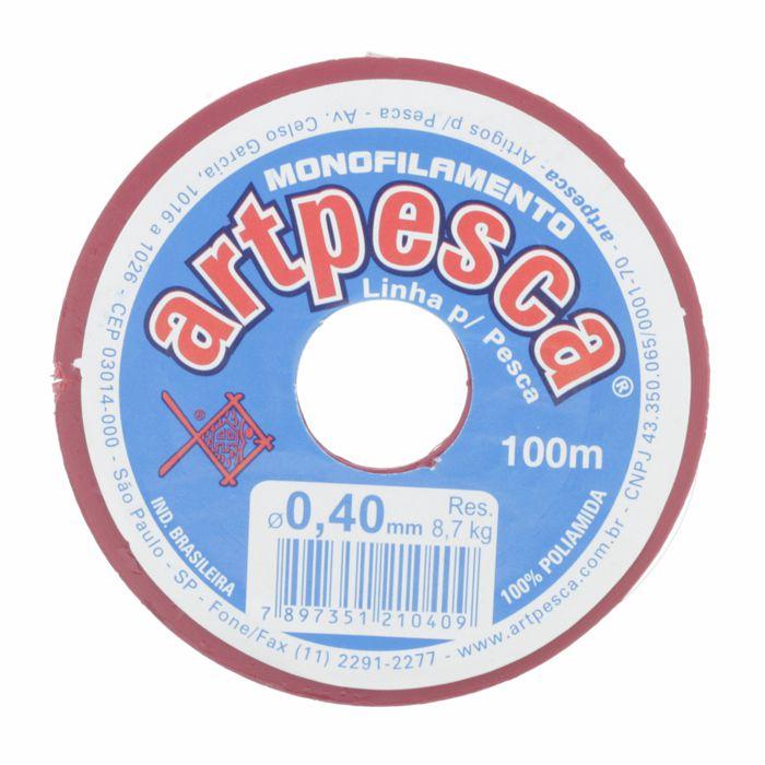 Fio de Nylon - ArtPesca® - 0,40mm  - Stéphanie Bijoux® - Peças para Bijuterias e Artesanato