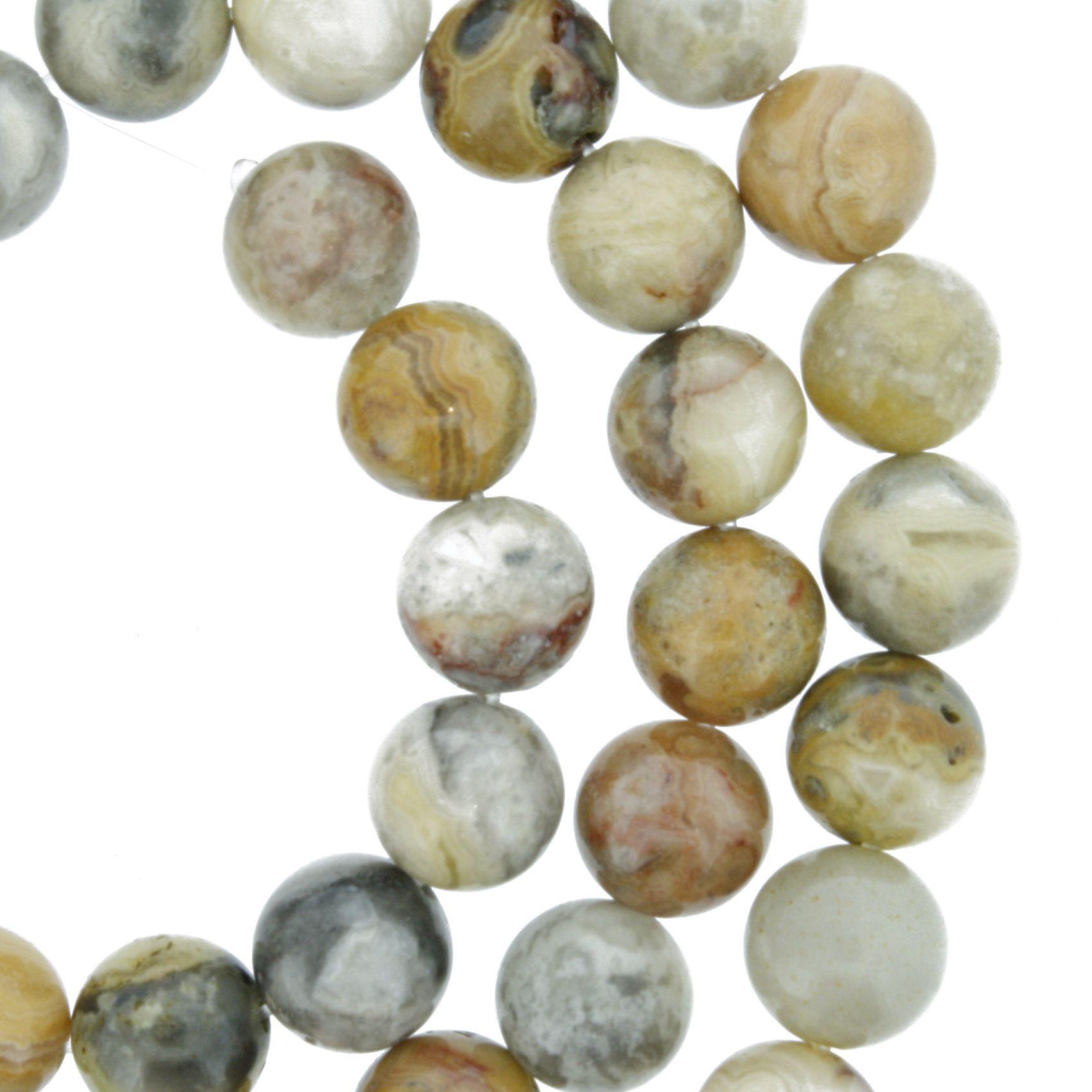 Fio de Pedra - Combarbalita - 8mm  - Stéphanie Bijoux® - Peças para Bijuterias e Artesanato