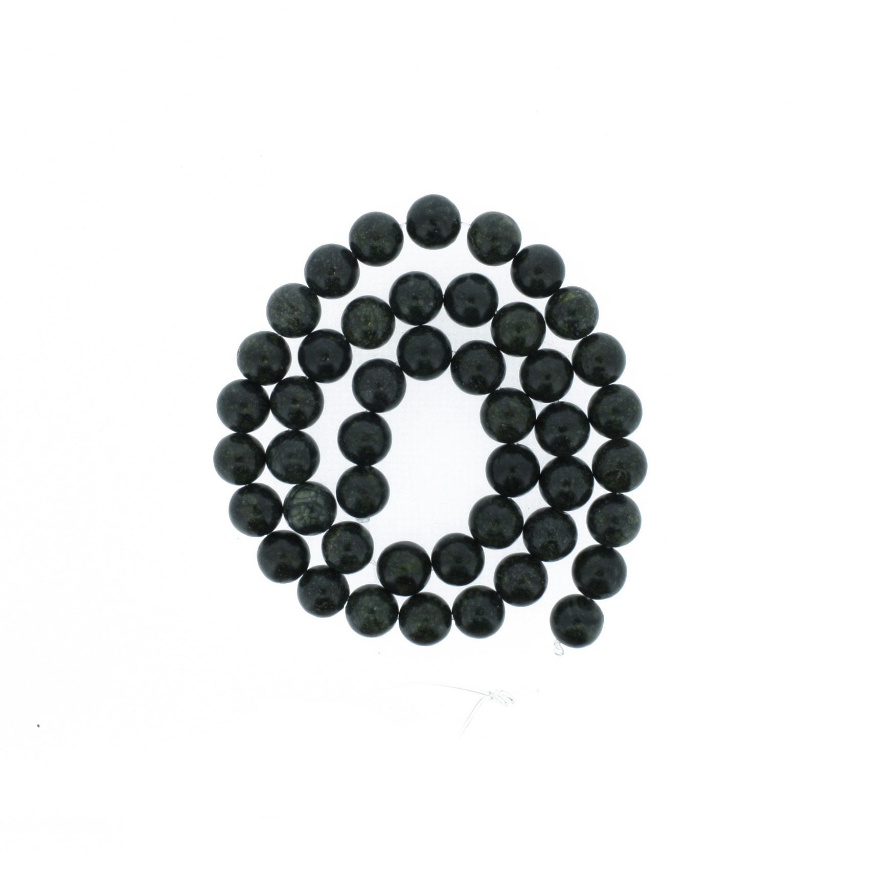 Fio de Pedra - Jaspe Cobra - 8mm  - Stéphanie Bijoux® - Peças para Bijuterias e Artesanato