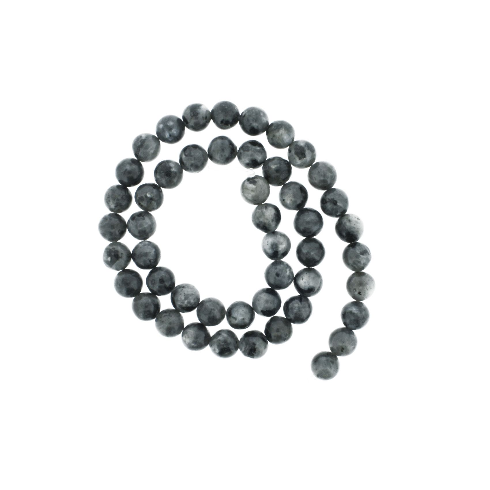 Fio de Pedra - Labradorita - 8mm  - Stéphanie Bijoux® - Peças para Bijuterias e Artesanato