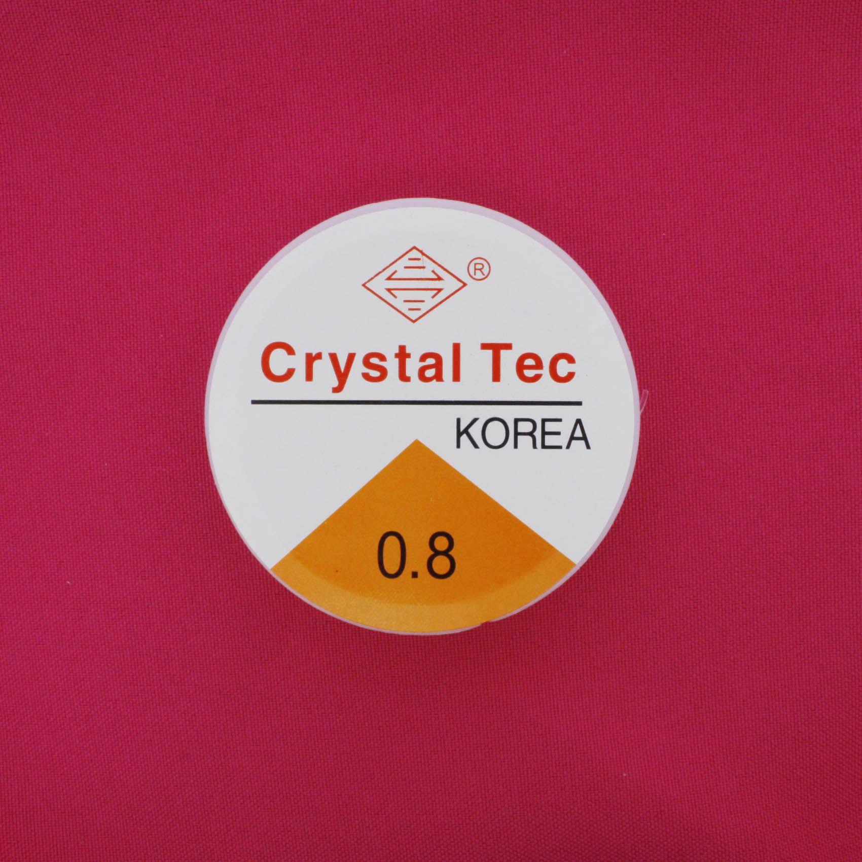 Fio de Silicone - 0.8mm - 10m  - Stéphanie Bijoux® - Peças para Bijuterias e Artesanato