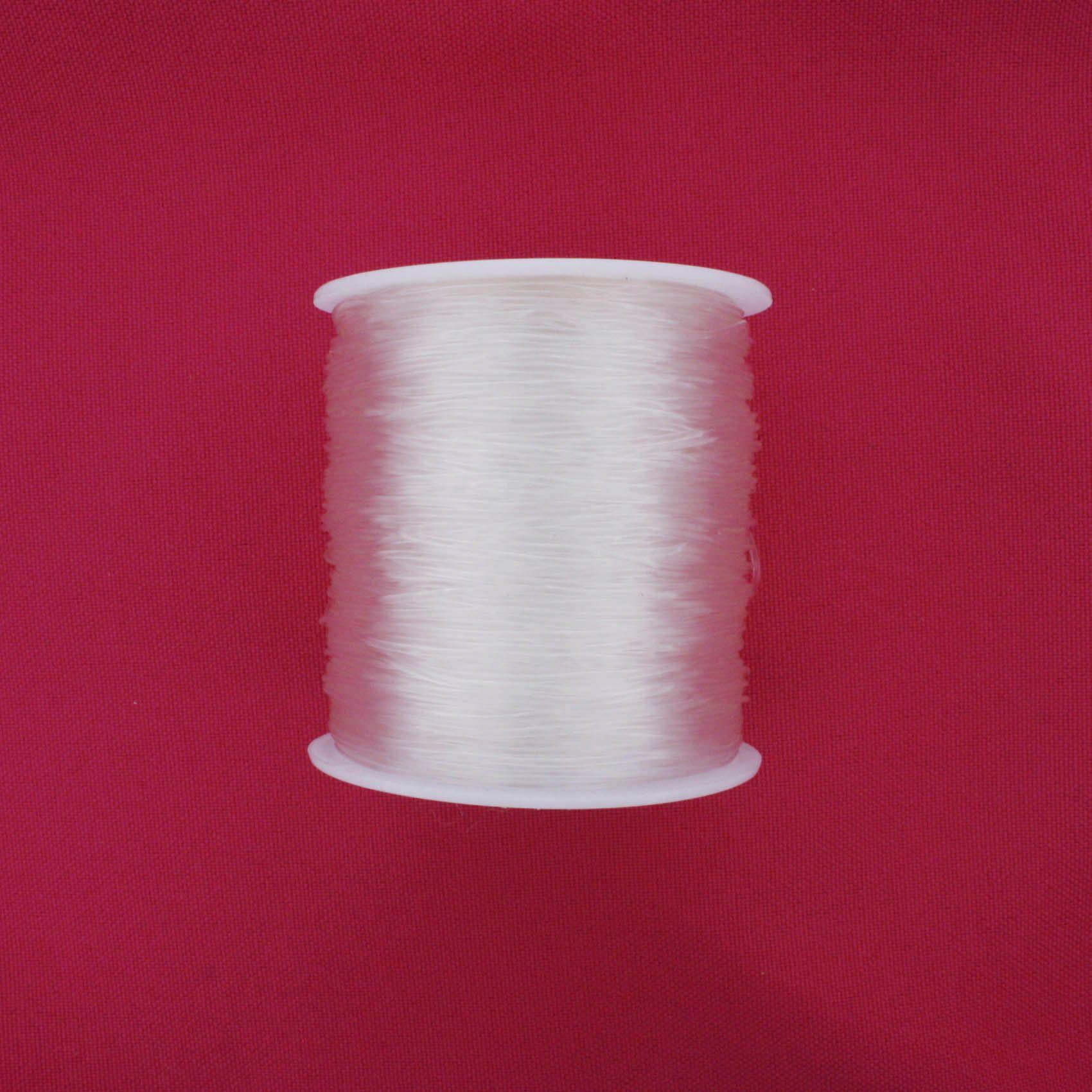 Fio de Silicone - 0.8mm - 100m  - Stéphanie Bijoux® - Peças para Bijuterias e Artesanato