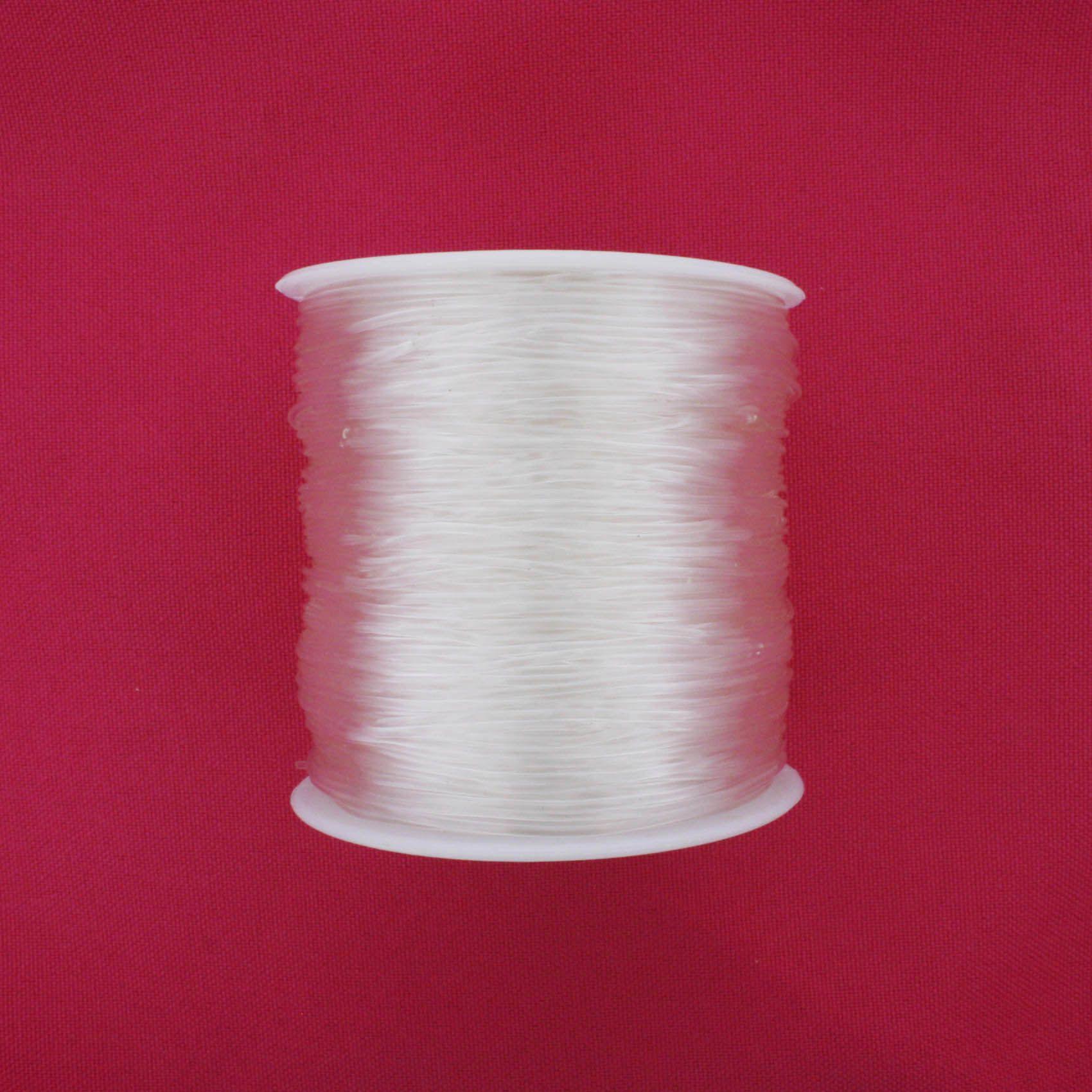 Fio de Silicone - 1.0mm - 100m  - Stéphanie Bijoux® - Peças para Bijuterias e Artesanato