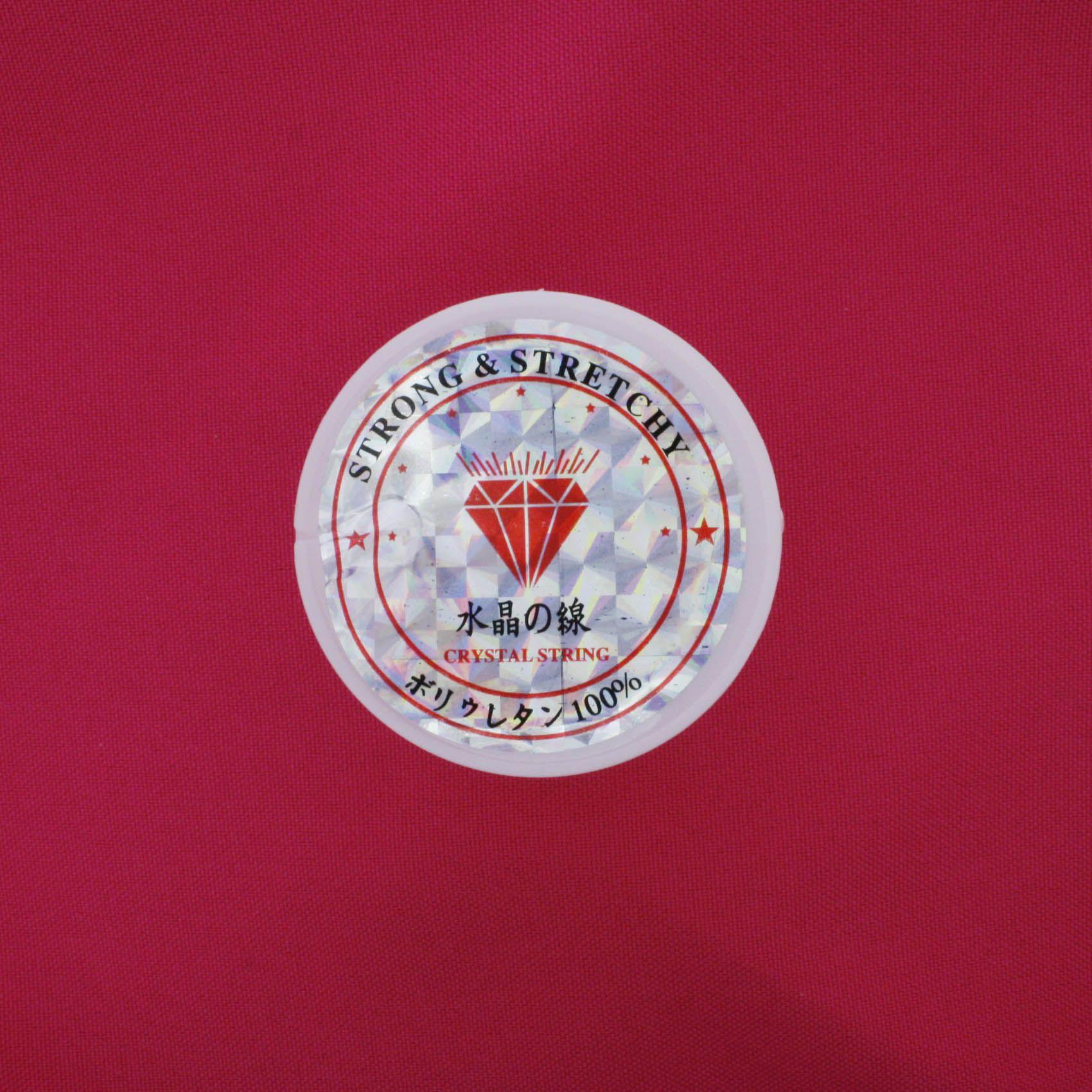 Fio de Silicone Fibra® - Seda Elástica - 50m  - Stéphanie Bijoux® - Peças para Bijuterias e Artesanato