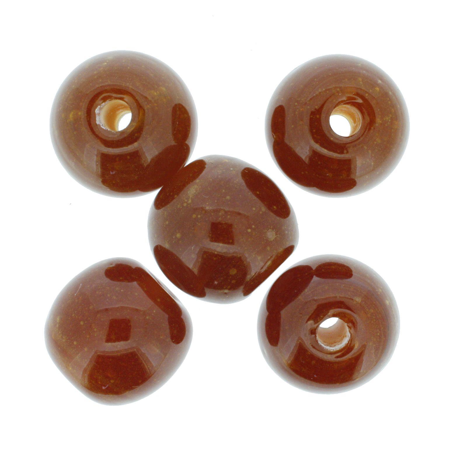 Firma Bola GG - Âmbar - 25mm  - Stéphanie Bijoux® - Peças para Bijuterias e Artesanato