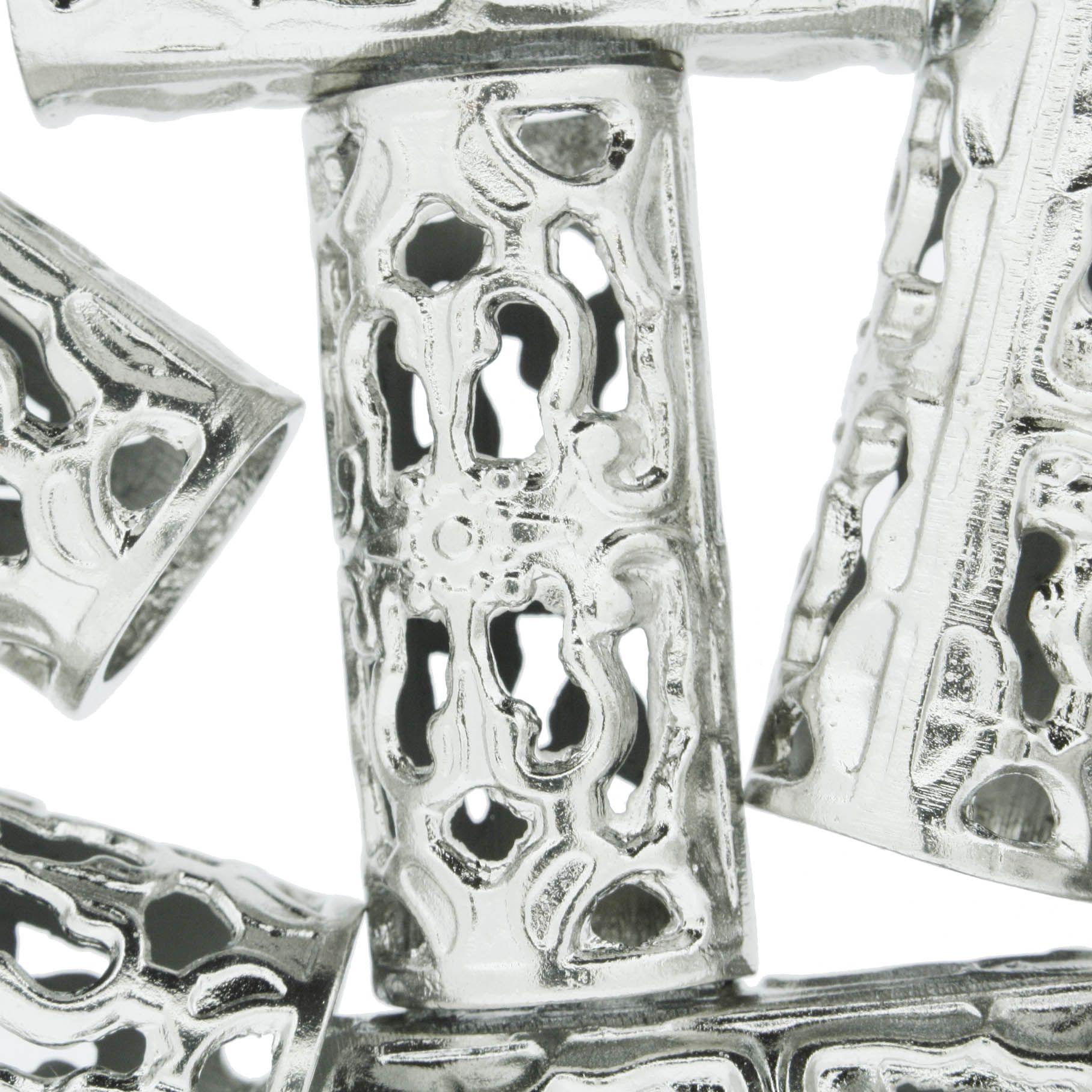 Firma de Metal - Níquel - 40mm  - Stéphanie Bijoux® - Peças para Bijuterias e Artesanato