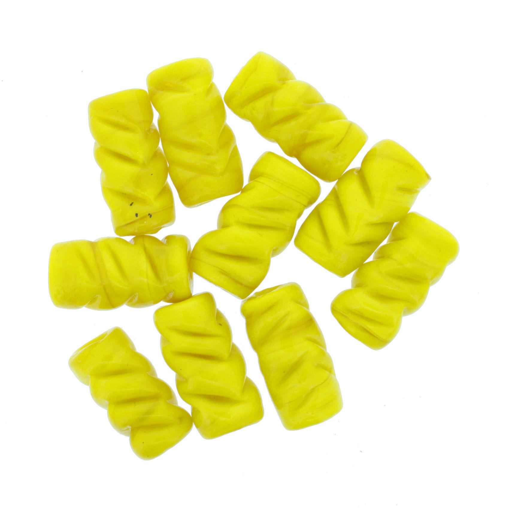 Firma Frisada - Amarela  - Stéphanie Bijoux® - Peças para Bijuterias e Artesanato