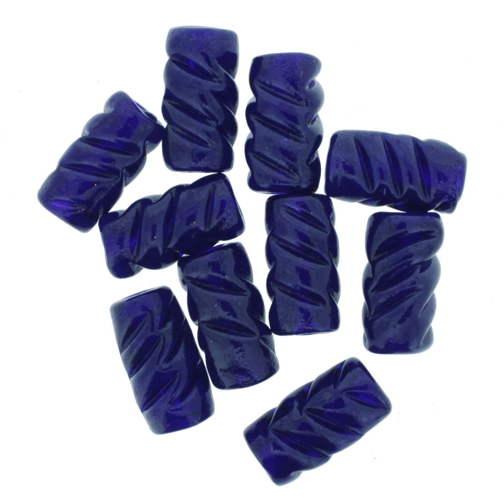 Firma Frisada - Azul Escuro  - Stéphanie Bijoux® - Peças para Bijuterias e Artesanato