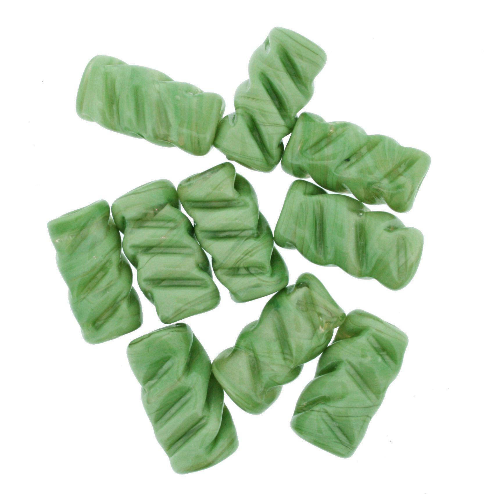 Firma Frisada - Verde  - Stéphanie Bijoux® - Peças para Bijuterias e Artesanato