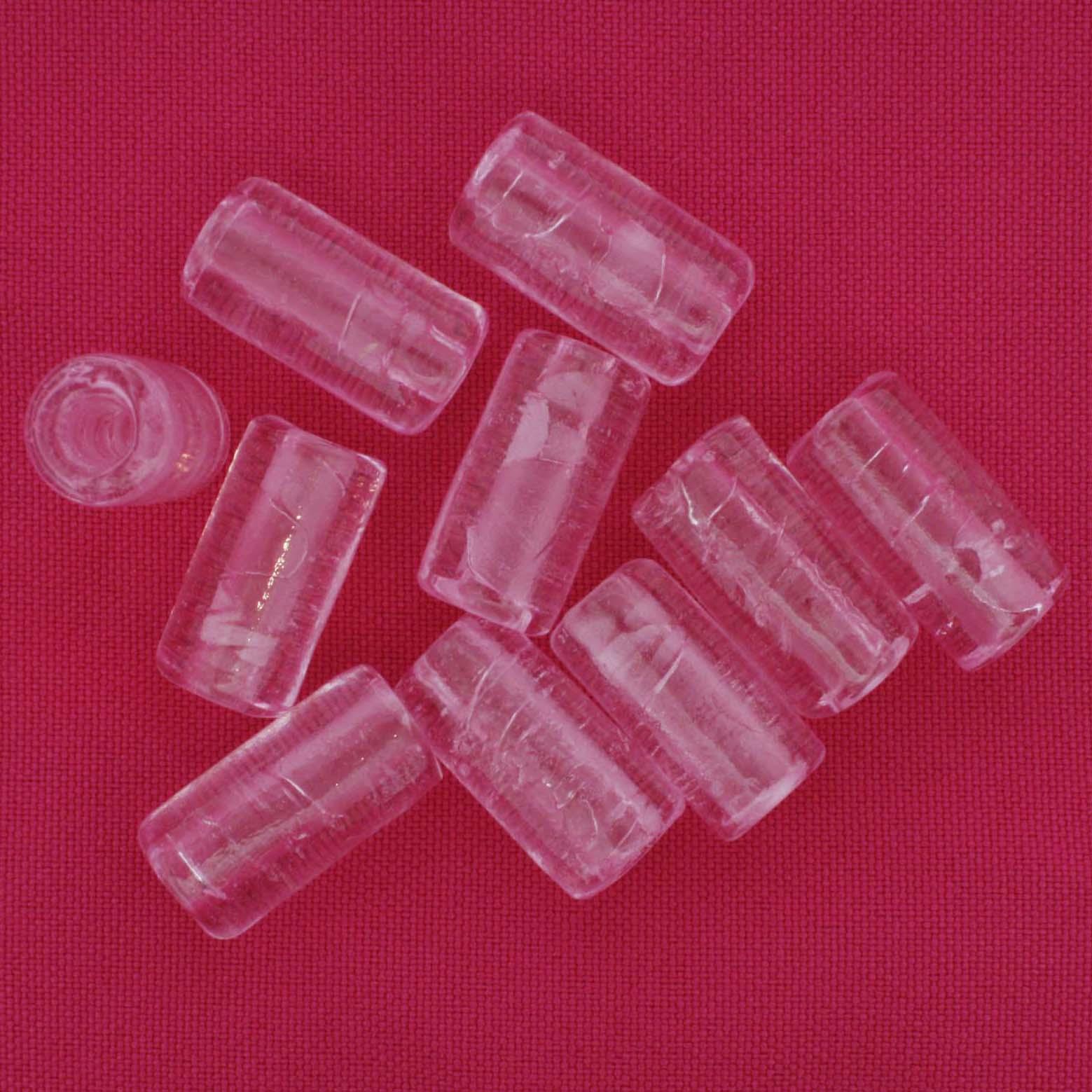 Firma Lisa - Rosa Transparente  - Stéphanie Bijoux® - Peças para Bijuterias e Artesanato