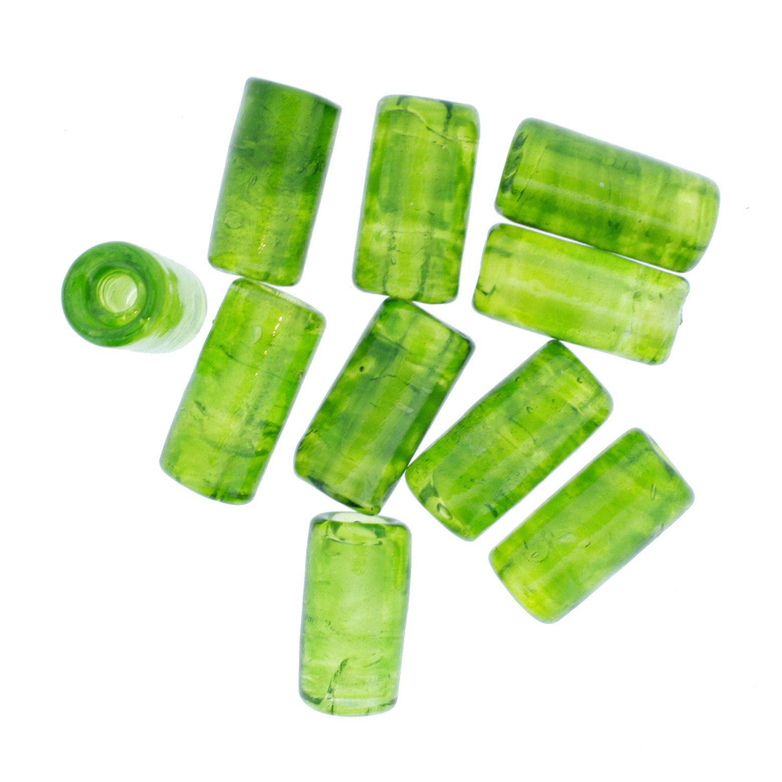 Firma Lisa - Verde Clara Transparente  - Stéphanie Bijoux® - Peças para Bijuterias e Artesanato
