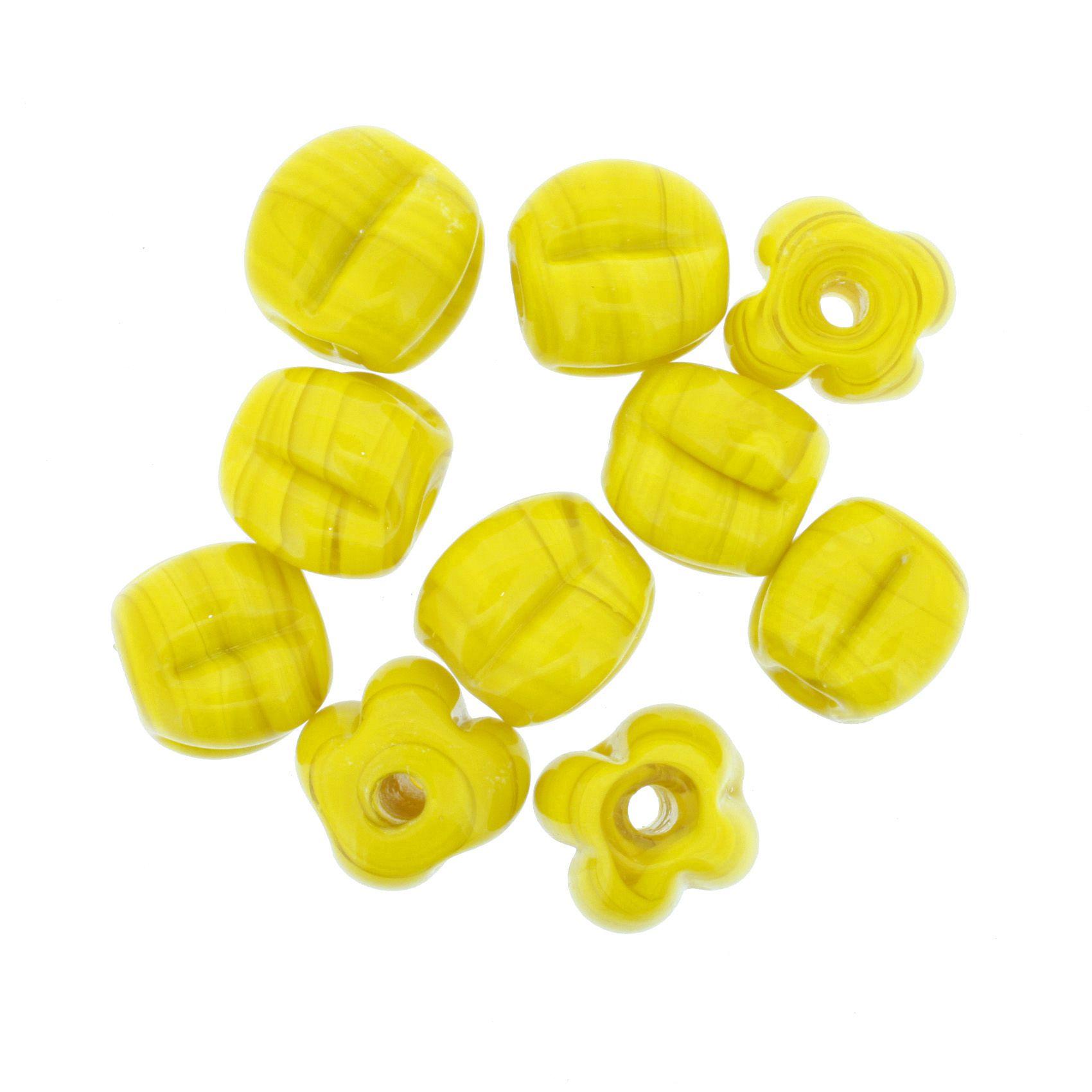 Firma Pitanga - Amarela  - Stéphanie Bijoux® - Peças para Bijuterias e Artesanato
