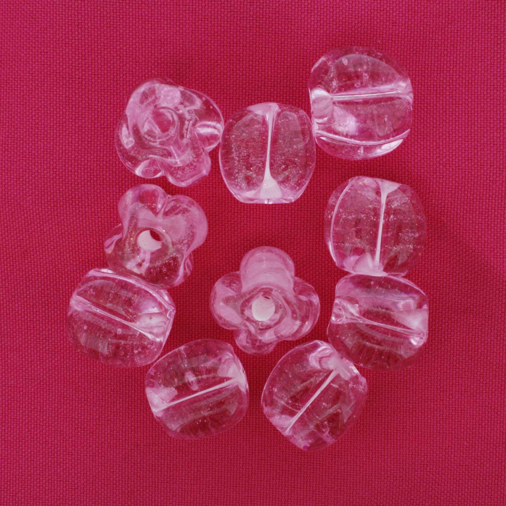 Firma Pitanga - Rosa Transparente  - Stéphanie Bijoux® - Peças para Bijuterias e Artesanato