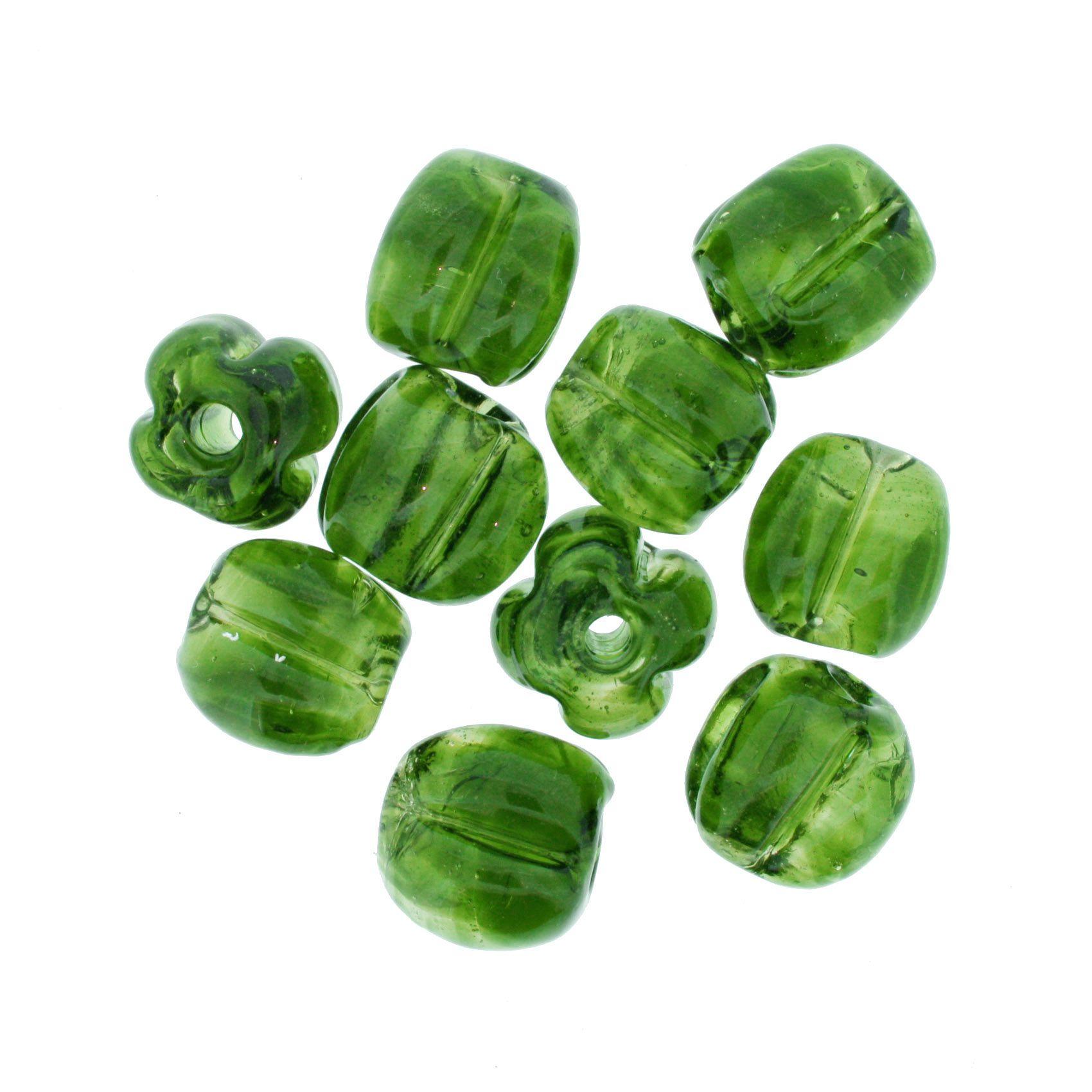 Firma Pitanga - Verde Transparente  - Stéphanie Bijoux® - Peças para Bijuterias e Artesanato