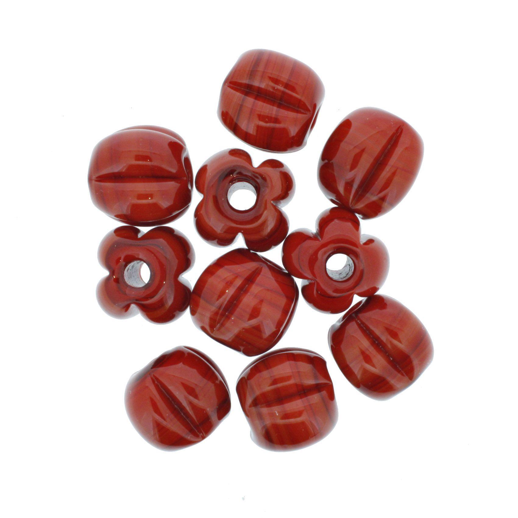 Firma Pitanga - Vermelha  - Stéphanie Bijoux® - Peças para Bijuterias e Artesanato