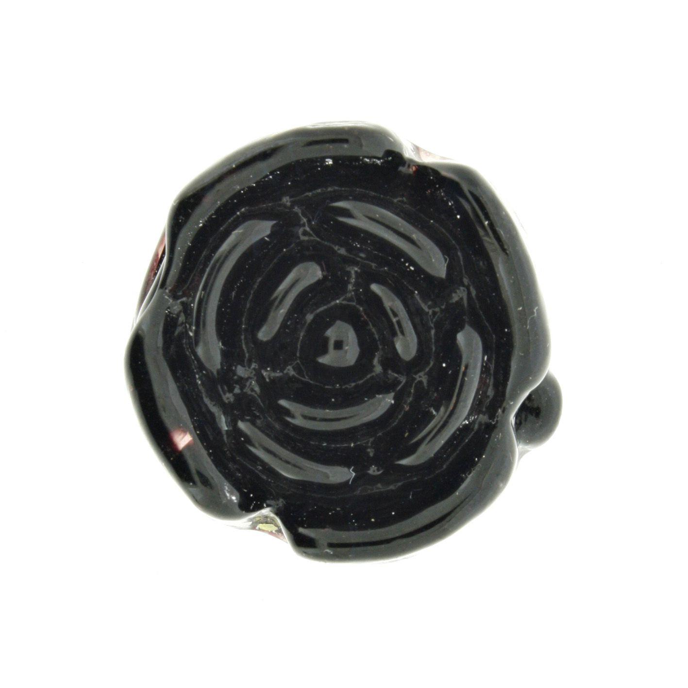 Firma Rosa - Preta - 1 Peça  - Stéphanie Bijoux® - Peças para Bijuterias e Artesanato
