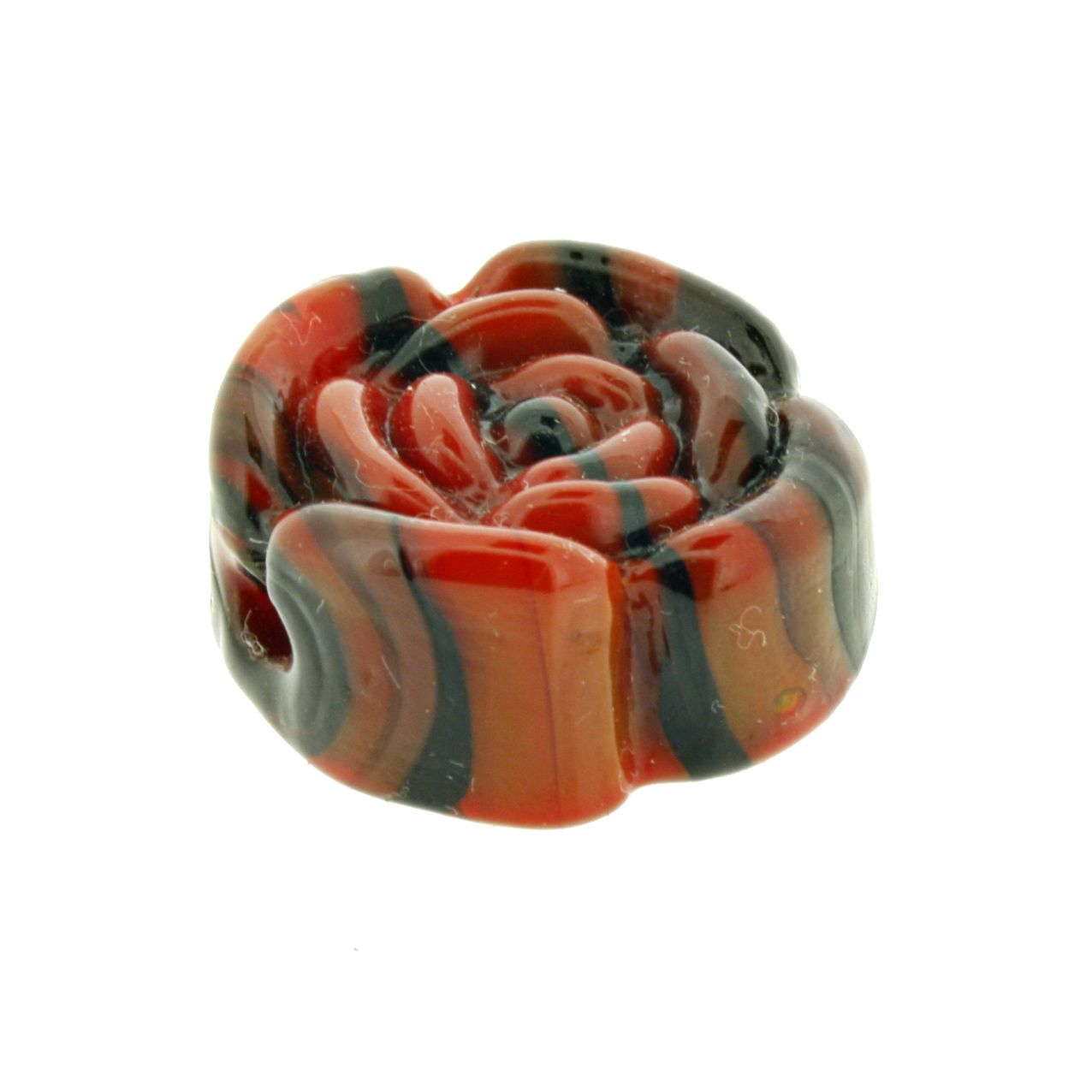 Firma Rosa - Vermelha e Preta - 1 Peça  - Stéphanie Bijoux® - Peças para Bijuterias e Artesanato