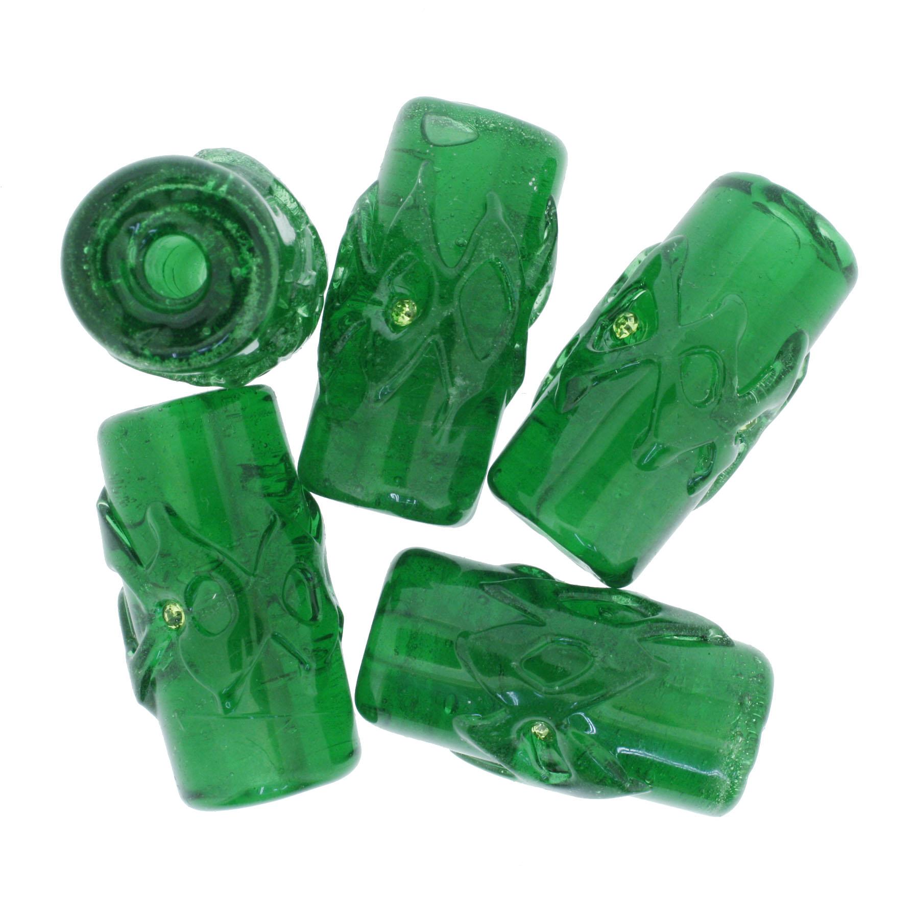Firmas Strass GG - Verde Transparente  - Stéphanie Bijoux® - Peças para Bijuterias e Artesanato