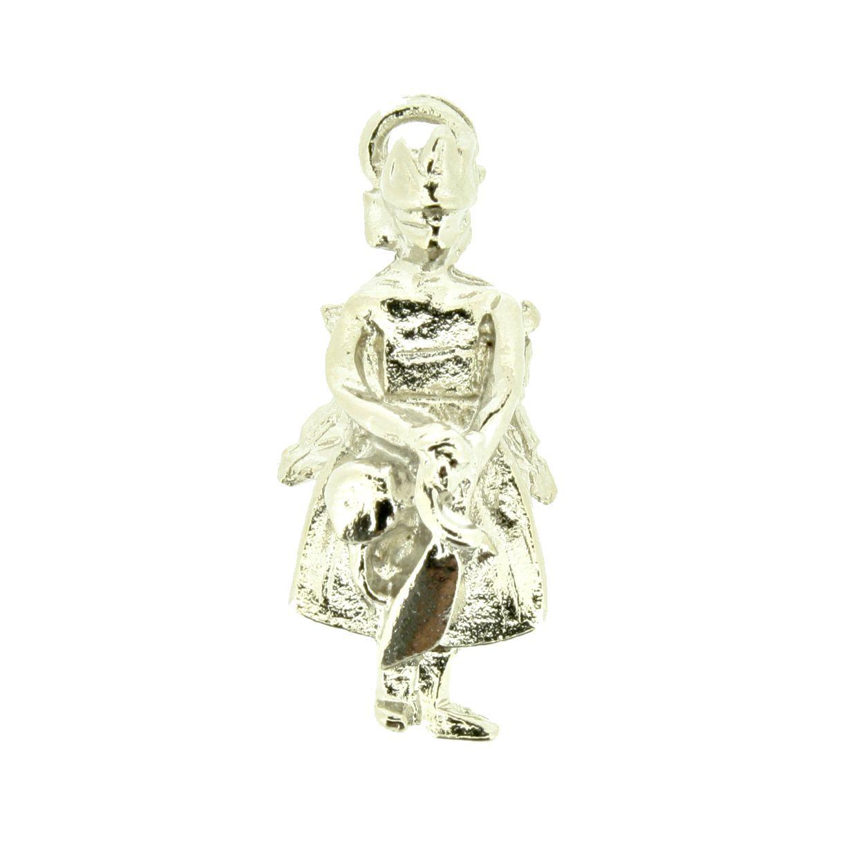 Iansã - Níquel - 26mm - 01 Peça  - Stéphanie Bijoux® - Peças para Bijuterias e Artesanato