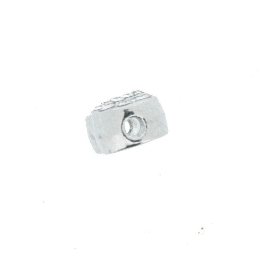 Infinito - Níquel com Strass - 6mm  - Stéphanie Bijoux® - Peças para Bijuterias e Artesanato