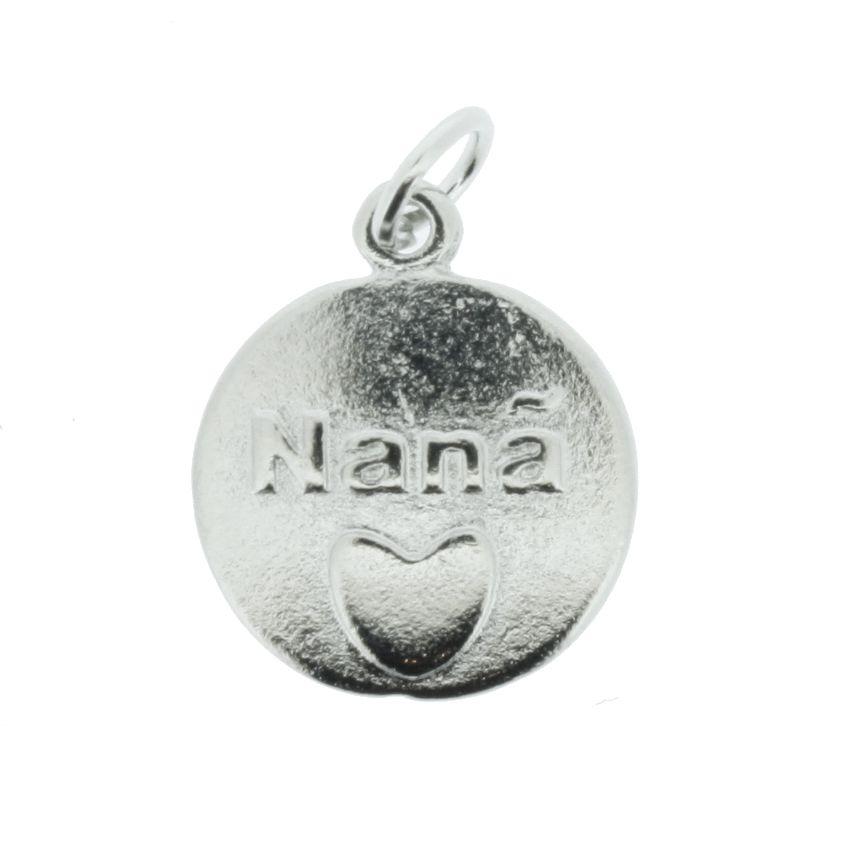Medalha Nanã - Níquel - 20mm  - Stéphanie Bijoux® - Peças para Bijuterias e Artesanato