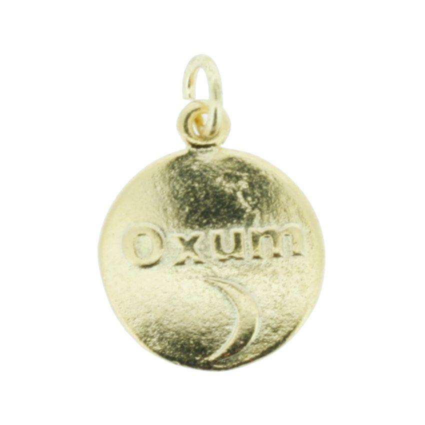 Medalha Oxum - Dourada - 20mm  - Stéphanie Bijoux® - Peças para Bijuterias e Artesanato