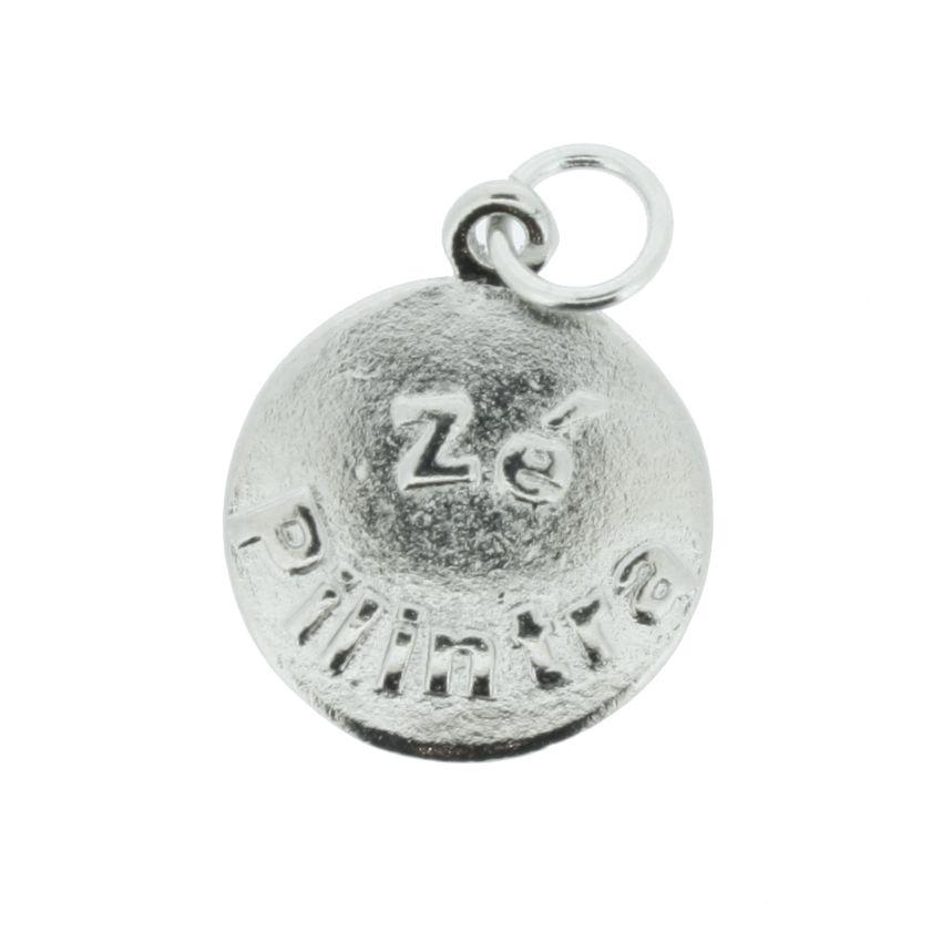 Medalha Zé Pilintra - Níquel - 20mm  - Stéphanie Bijoux® - Peças para Bijuterias e Artesanato