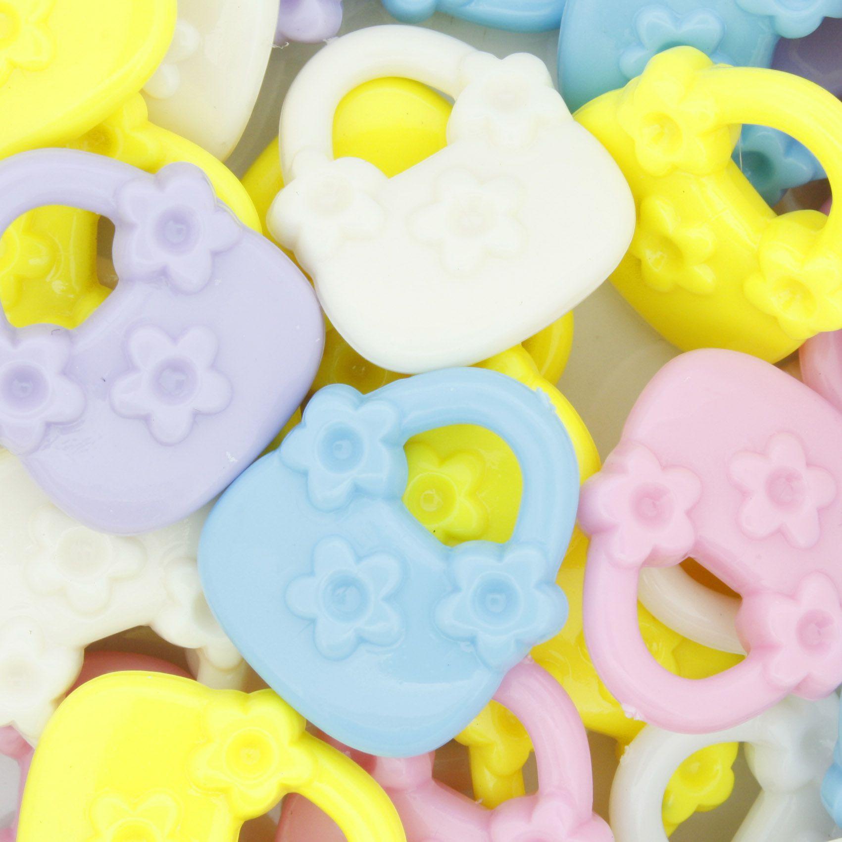 Miçanga Colorida / Infantil - Bolsinha  - Stéphanie Bijoux® - Peças para Bijuterias e Artesanato