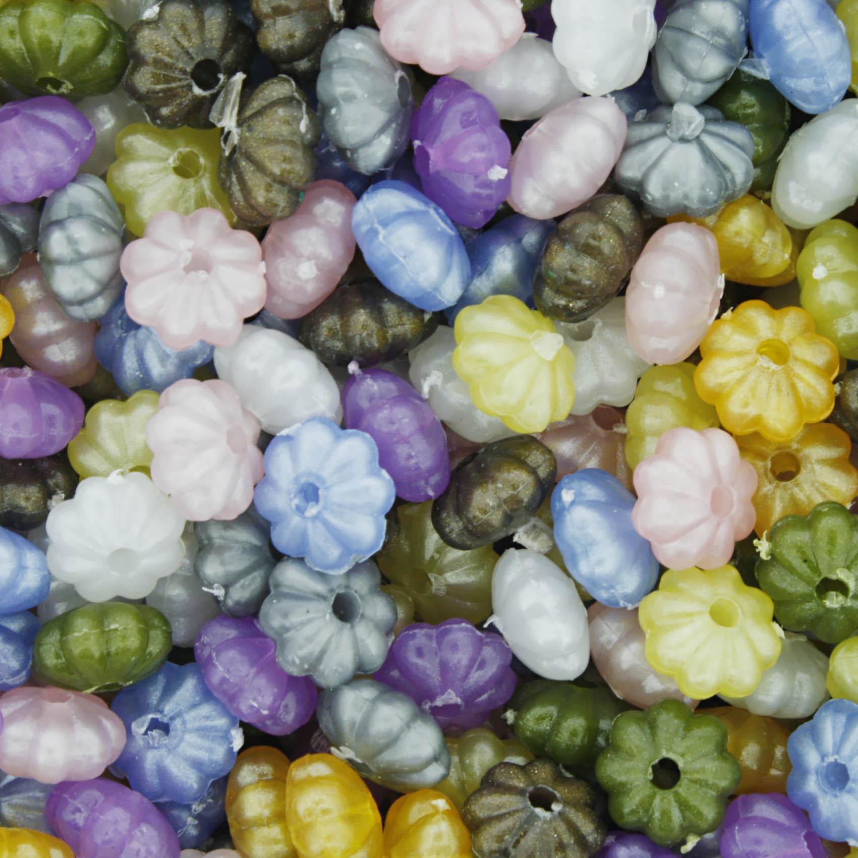 Miçanga Colorida / Infantil - Pitanga Perolada  - Stéphanie Bijoux® - Peças para Bijuterias e Artesanato