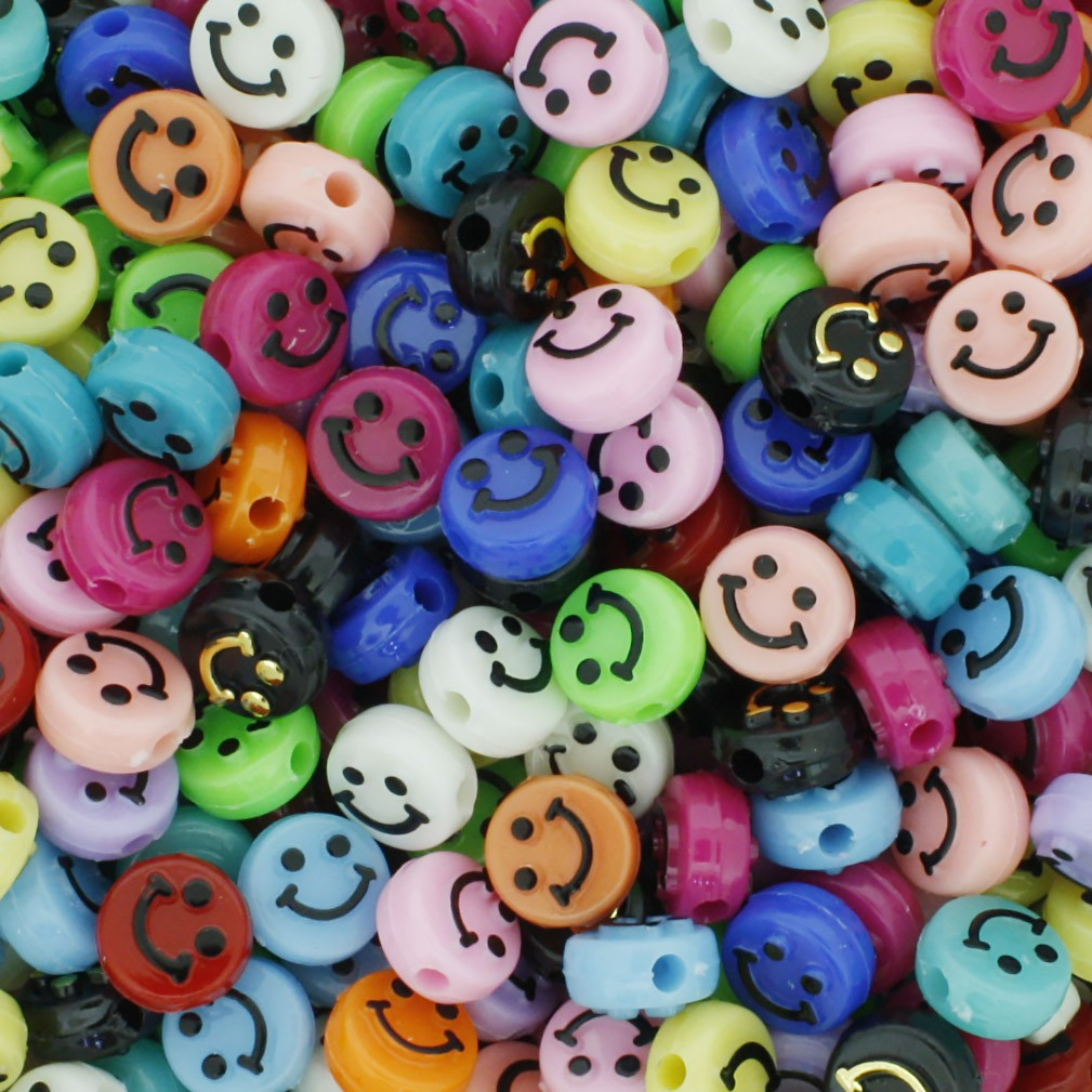 Miçanga Infantil - Smile Colors  - Stéphanie Bijoux® - Peças para Bijuterias e Artesanato